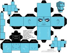 DR.Manhattan Cubeecraft
