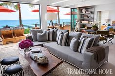 <p>2014 New Trad designer Ryan White lets loose his vision of beach chic for an oceanfront getaway home</p>