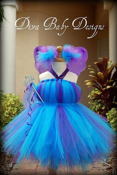This will make a very cute Abby Cadabby costume for a Sesame Street Inpired Party.