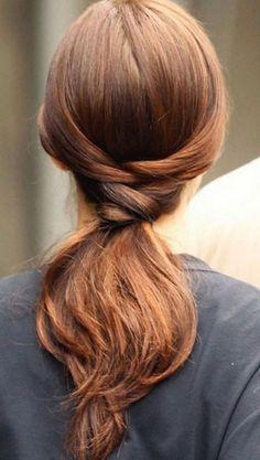 At kuyruğu saç modelleri - 12