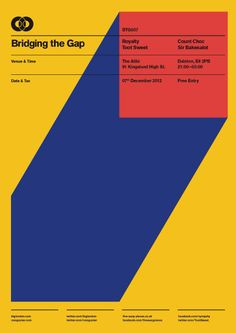BTG Poster Series on Behance in Geometric