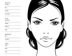 Boa tarde meninas! Para quem acompanhou o post de ontem, explicamos um pouquinho sobre os Face Charts, croquis de maquiagem que te permitem desenhar makes para guardar ideias ou uma combinação que funcionou e que seria legal produzir de novo.