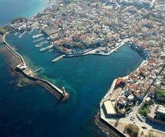 Le vieux port de la #Canée