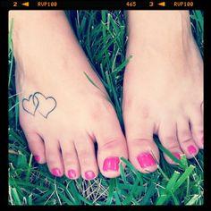 Summer Time #grass #pink #toes #tattoo #sunshine #Cali
