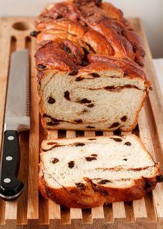 Cook's Illustrated Cinnamon Swirl Bread from @TreatsSF