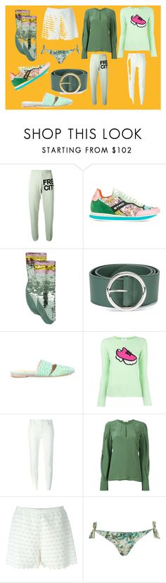 """""""fashion trends"""" by monica022 ❤ liked on Polyvore featuring FreeCity, Etro, Gucci, Orciani, Xaa, Allude, Maison Margiela, Dorothee Schumacher, Giamba and Lygia & Nanny"""