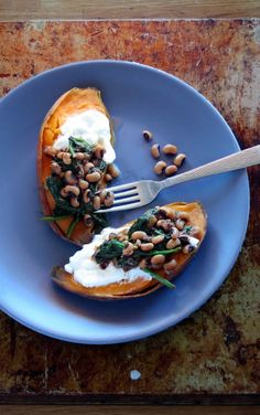 Sweet Potato & Black-eyed Peas One Pot Meal (pressure cooker)