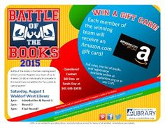 Battle of the Books! at Waldorf West
