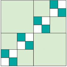 Triple Four-Patch Quilt Block Quilt Block Patterns, Pattern Blocks, Quilt Blocks, Quilting Tutorials, Quilting Designs, All People Quilt, 4 Patch Quilt, American Patchwork And Quilting, Patches