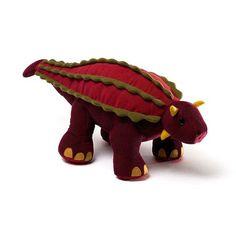 Gund Adam Ankylosaurus Dinosaur Plush