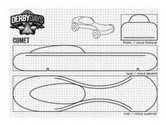 free pinewood derby car templates download pinewood derby free templates | Pinewood Derby Car Cutting Template ...