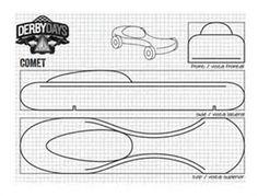 Pinewood derby templates customizable pinewood derby car template image result for pinewood derby car templates printable maxwellsz
