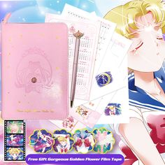 Sailor Moon 20th Anniversary luna luxury Moon Bar Note Book Creative Gift Pre N