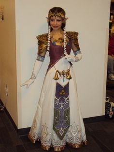 This girl made the most amazing Zelda costume. I'm pretty certain mine won't be this amazing.