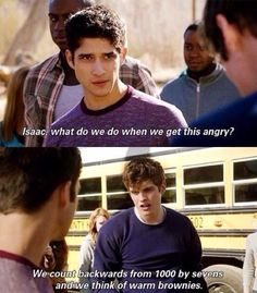LOL I miss Isaac | Teen Wolf