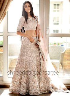 Indian Lehenga Choli Designs For Wedding Pink Dress Lehenga Choli, Indian Lehenga, Net Lehenga, Indian Bridal Outfits, Bridal Dresses, Indian Wedding Clothes, Party Wear Indian Dresses, Indian Wedding Gowns, Indian Bridal Wear