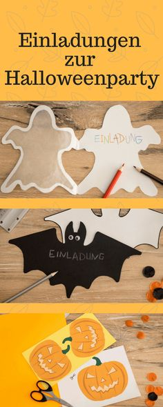 Noch auf der Suche nach einer tollen Einladung für Deine Halloweenparty?  Benutz doch ganz einfach unsere Vorlagen. Das geht ganz fix und sieht super aus ;)