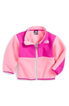 The North Face 'Denali' Recycled Fleece Jacket (Baby Girls) available at #Nordstrom