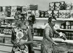 Grocery Shopping, 1960s is listed (or ranked) 18 on the list 30 Vintage Photos Of Grocery Stores That Are Beyond Fascinating