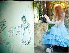So, nun hoffe ich euch, die #Alice Reihe mit Annie Black hat euch gefallen?! Hier kommt natürlich noch meine #Vorstellung (#Skizze) und das #Endergebnis =)  Euch wünsche ich allen noch einen schönen Sonntag Abend =) #aliceinwonderland #aliceimwunderland #cosplay #fotografie #Wunderlandillusion