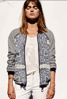 Maison Scotch jacket spring / summer 2015 ladies inspiration.