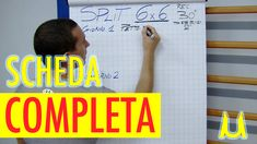 SCHEDA COMPLETA PALESTRA METODO 6x6 IN MONOFREQUENZA