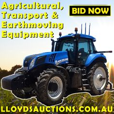 Lloyds Auctioneers and Valuers - Auction Lots Agriculture, Transportation, Auction