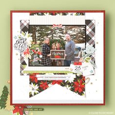 Document the most wonderful time of the year with our festive scrapbooking papers. #scrapbooking #crafting