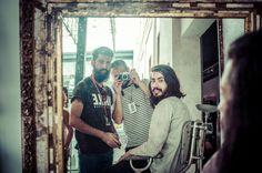Avere la barba: Claudio Traina, Diego Santi e Alessandro Toso