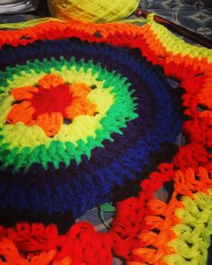 Dream in colours.  #rembayanngkulay #crochetmandala by marihohana_