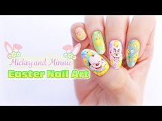 ☆ Mickey and Minnie Easter Nail Art ☆ - http://47beauty.com/nails/index.php/nail-art-designs-products/  ☆Mickey & Minnie Easter Nail Art☆ ☆Equipment☆ Nail Polishes – Bardot (Picture Polish) – Mojito (Beyond The Nail) – Pastel Green, White (My DIY Franken Polish) Acrylic Paint – Yellow, Red, Brown, White, Pink, Blue, Orange, Green Nail Art Brushes – https://nailbees.com/shop Music – Opening Night from YouTube Free Music Libr