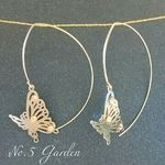 butterfly 春 ピアス