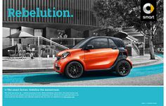 SMART 2016, Cabrio, fortwo,forfour on Behance