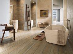 salle de bain dans le style asiatique pierre et bambou - Salle De Bain Parquet Bambou