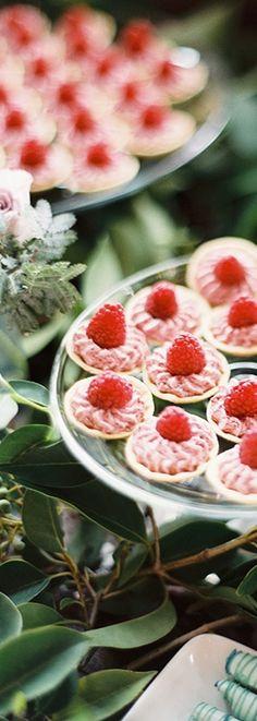 Pretty Raspberry Tarts