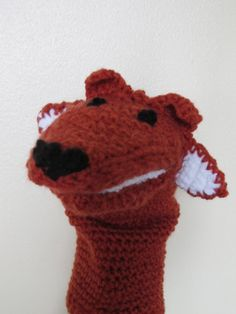 Fox Crochet Puppet by KidCulture on Etsy, $28.00