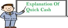 Explanation Of The Working Style Of Quick Cash Loans! #quickcashloans