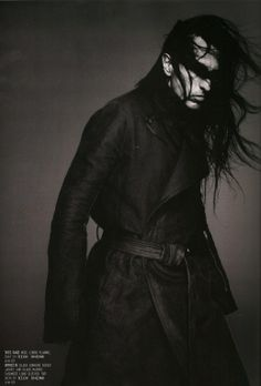 Rick Owens Portrait, by Nick Knight for Arena Homme Plus