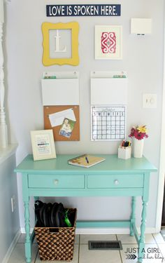 Get organized quickly with these 8 essential elements of a family command center!