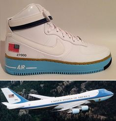 """The """"Presidential"""" Nike Air Force 1"""