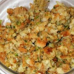 The best stuffing in the world! Never eat Stove Top again! - Mom's Stuffing More