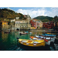 """Outdoor Canvas Art-Boat in Vernazza 30"""" x 40"""" $199"""