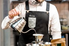 Barista Apron. Custom Made. One Original. No Ordinariness.