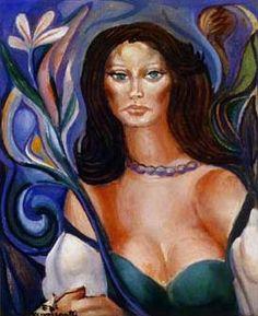 Di Cavalcanti (1897/1976) - Mulata de Vestido Verde