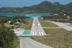 Landing on St. Barths