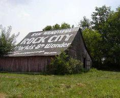 Rock City Barn In Montgomery Co. TN