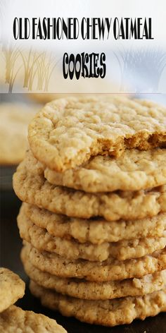OLD FASHIONED CHEWY OATMEAL COOKIES – bestcookers - bestcookers