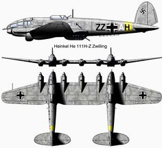 The Heinkel HE111 Zwilling was a heavy plane used for transporting gliders by the Lufwaffe during…»