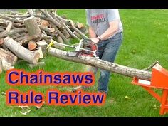 An awesome chainsaw gadget for measuring wood as you cut.  It quickly mounts onto chainsaws.