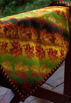 Ravelry: Autumn Fall Leaves pattern by Erssie Major